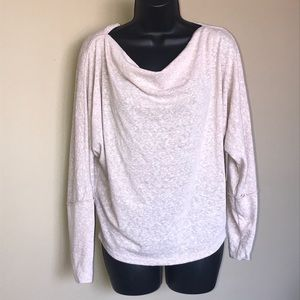 We The Free Marled Off The Shoulder Top Size M